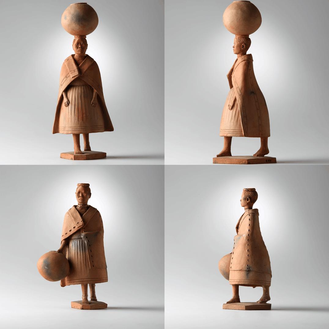 Foto de escultura do museu de Iziko